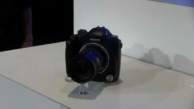 Sony Prototype 4K Cameras and Lenses Eyes-On